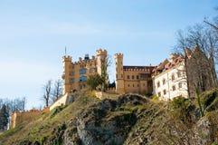 Hohenschwangaukasteel, Duitsland Royalty-vrije Stock Foto