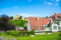 Hohenschwangaukasteel, Fussen, Beieren, Duitsland Stock Afbeeldingen