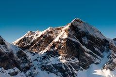 Hohenstollen mountain peak Stock Photography