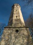 Hohensyburg della torre di Vincke, Dortmund, Germania un giorno soleggiato Fotografia Stock Libera da Diritti