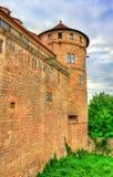 Hohentubingen Castle Tubingen, Γερμανία Στοκ Φωτογραφία