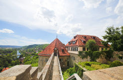 Hohentubingen Castle in Tubingen, Germany Stock Images