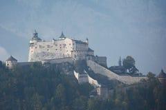 Hohenwerfen城堡-奥地利 免版税库存图片