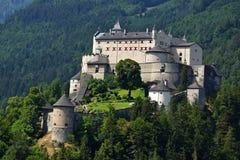 Hohenwerfen城堡 库存照片