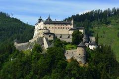 Hohenwerfen城堡 免版税图库摄影