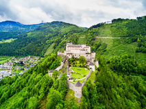 Free Hohenwerfen Castle Aerial View Stock Image - 99147581