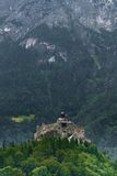 Hohenwerfen castle in Austria Stock Photo