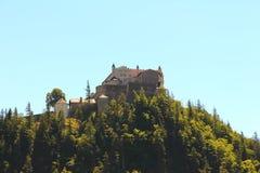 Hohenwerfen Castle. In the regions Salzburg austria Royalty Free Stock Photo