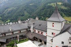 Hohenwerfen-Festung lizenzfreies stockfoto