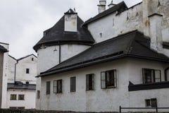 Hohenwerfen kasztel, Salzburgh Obrazy Stock