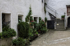 Hohenwerfen kasztel, Salzburgh Zdjęcie Royalty Free