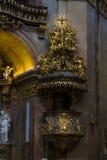 Hohenwerfen kasztel, Salzburgh Obraz Royalty Free