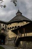 Hohenwerfen kasztel, Salzburgh Obrazy Royalty Free