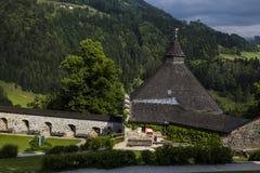 Hohenwerfen kasztel, Salzburgh Fotografia Stock