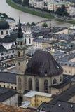 Hohenwerfen slott, Salzburgh arkivbilder