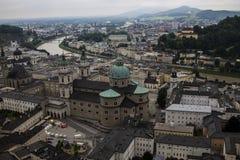 Hohenwerfen slott, Salzburgh royaltyfria foton