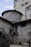 Hohenwerfen slott, Salzburgh arkivbild