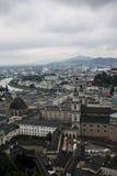 Hohenwerfen slott, Salzburgh royaltyfria bilder