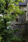 Hohenwerfen slott, Salzburgh royaltyfri fotografi