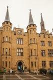 hohenzollern的城堡 免版税库存照片