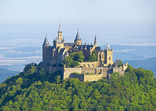 Hohenzollern. A photography of the beautiful castle Hohenzollern in Germany Royalty Free Stock Image