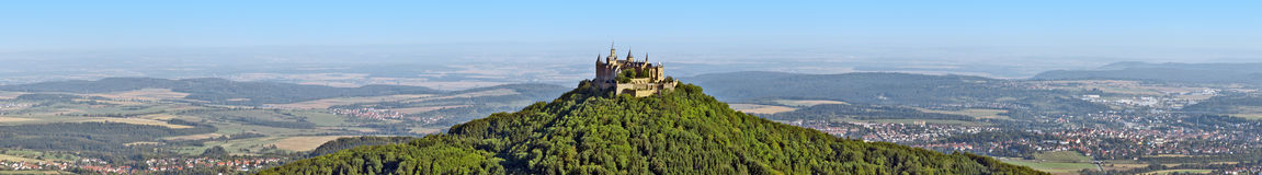 Hohenzollern. A photography of the beautiful castle Hohenzollern in Germany Stock Photography