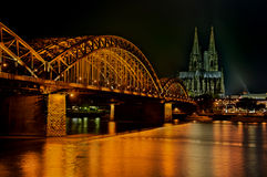 Hohenzollern Bridge Stock Photography