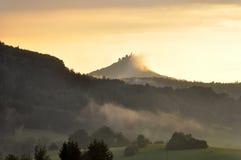 Hohenzollern castle stock photos