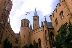 Hohenzollern Castle. In Baden-Wuerrtenburg, Germany Royalty Free Stock Photos