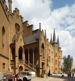 Hohenzollern Castle Royalty Free Stock Photos