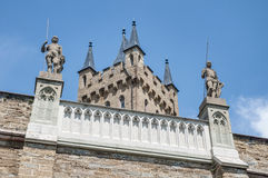 Hohenzollern Castle in Baden-Wurttemberg, Germany Stock Image