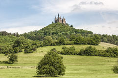 Hohenzollern Castle in Baden-Wurttemberg, Germany Stock Photo