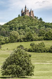 Hohenzollern Castle in Baden-Wurttemberg, Germany Royalty Free Stock Images