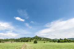 Hohenzollern Castle in Baden-Wurttemberg, Germany Royalty Free Stock Photo