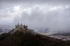 Hohenzollern Castle, Germany Royalty Free Stock Photography