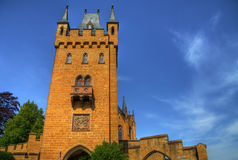 Hohenzollern castle HDR Royalty Free Stock Images