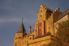 Hohenzollern castle in Swabian during autumn. Germany Stock Images