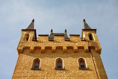Hohenzollern castle in Swabian during autumn Stock Images