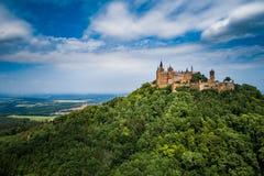 Hohenzollern-Schloss, Deutschland Lizenzfreies Stockfoto