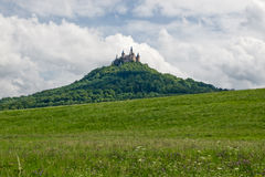 hohenzollern slott Arkivfoto