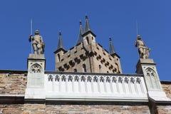 Hohenzollern slott Royaltyfri Fotografi