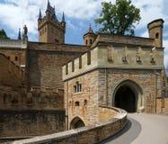 hohenzollern slott Arkivbild