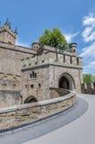 Hohenzollern slott i Baden-Wurttemberg, Tyskland Arkivfoton