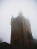 Hohenzollern slott i Swabian under hösten, Tyskland Royaltyfria Foton