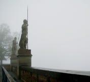 Hohenzollern slott i Swabian under hösten, Tyskland Royaltyfria Bilder