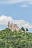 Hohenzollern slott i Baden-Wurttemberg, Tyskland Arkivbild