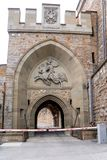 Hohenzollern slott, Tyskland Arkivbilder