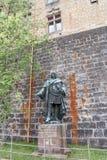 Hohenzollern slott, Tyskland Royaltyfria Bilder