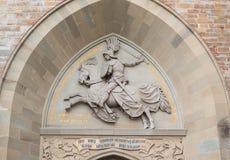 Hohenzollern slott, Tyskland Royaltyfria Foton