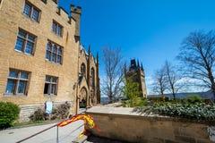 Hohenzollern slott, Tyskland - April 30, 2017, Hohenzollern Ca Royaltyfri Bild